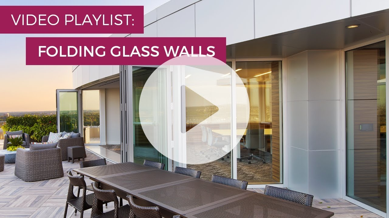 Easy to Use  4x 8 Folding Glass Walls  Solar Innovations