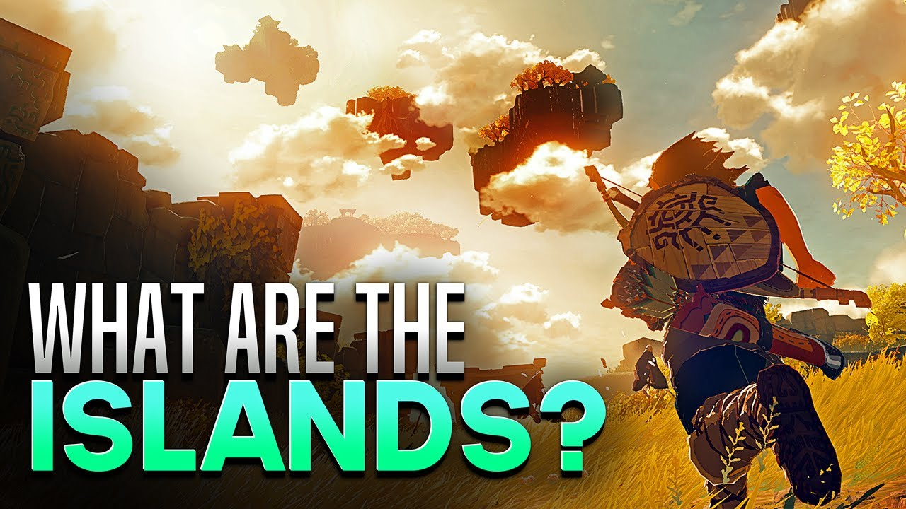What are the Sky Islands? - Breath of the Wild 2 Theories