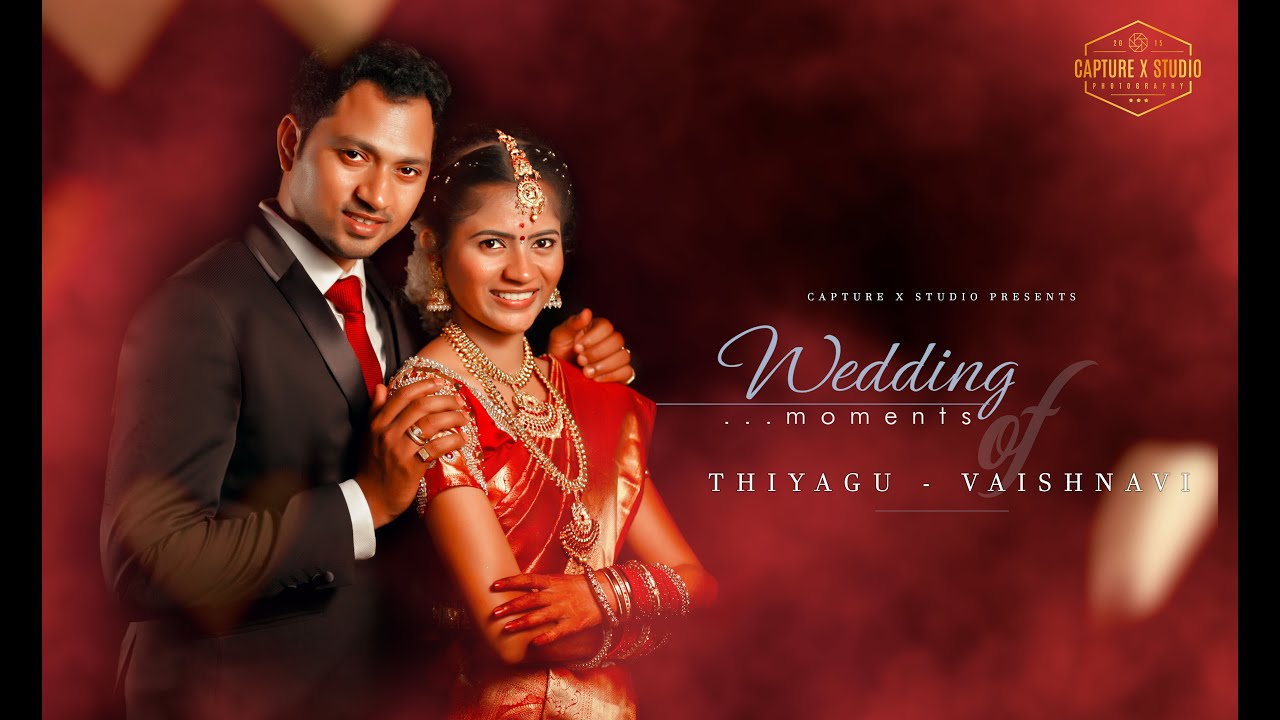Indian Tamil Wedding Montage Video Thiyagu Vanishnavi Youtube