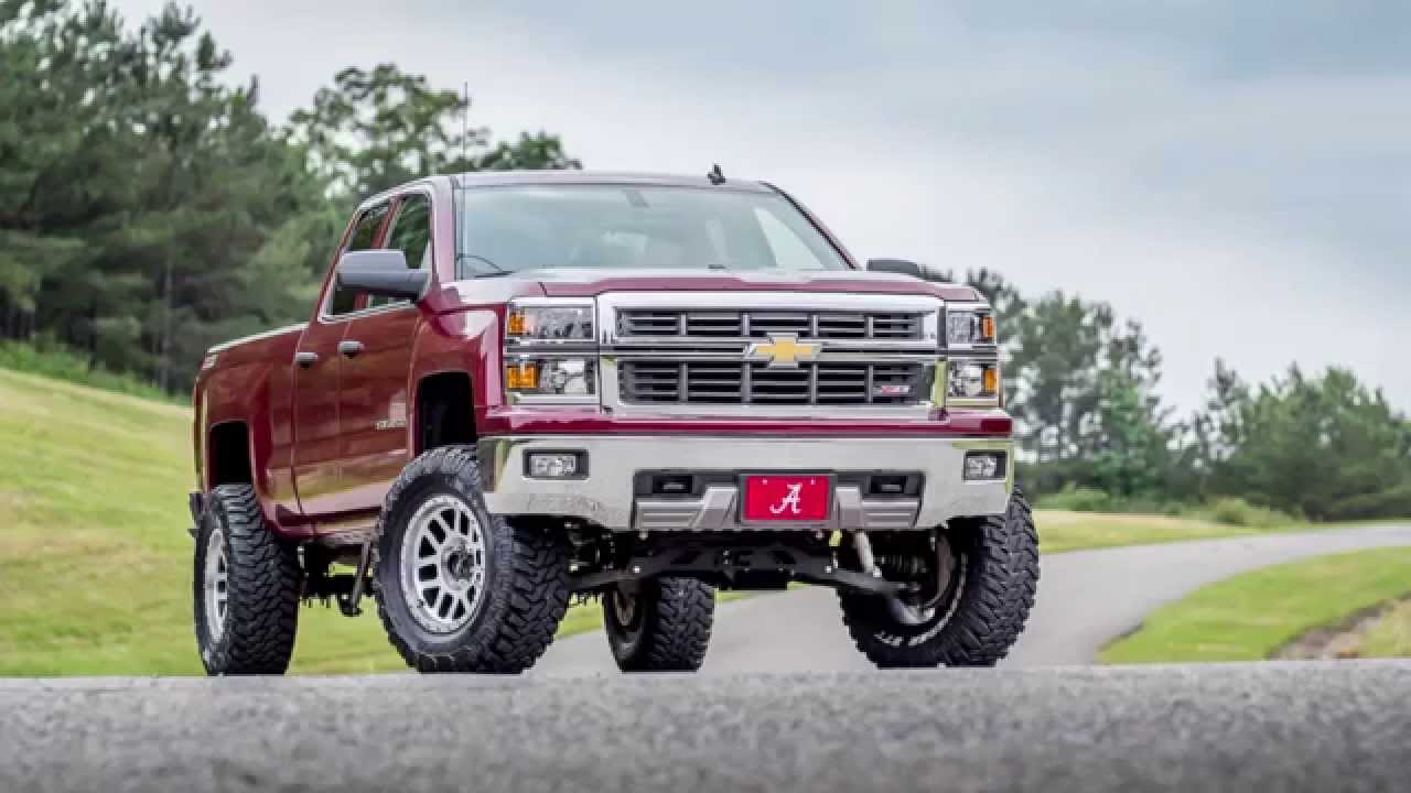 """6 Inch Lift Kit For Chevy Silverado 1500 >> 2014 Chevy Z71 with 6"""" Rough Country lift - YouTube"""