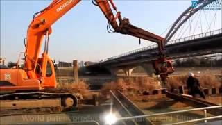 Вибропогружатель DAEDONG от компании ФАРНА farna-com.ru(Компания ФАРНА занимается поставками и продажами навесного оборудования и запчастей для спецтехники...., 2012-08-24T08:17:09.000Z)