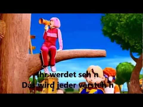 Lazy Town-New games everyday(german cover)(mit Lyrics) - YouTube
