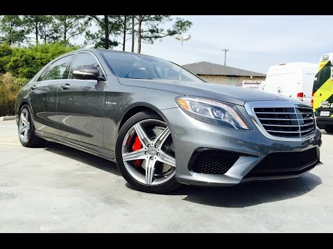 2016 Mercedes Benz S Class: AMG S63 Sedan /Full Review / Exhaust /Start Up /Short Drive