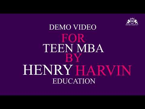 Demo Video for Teen MBA by Henry Harvin Education