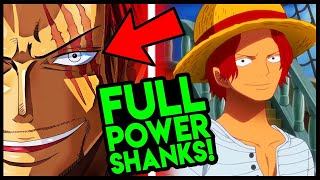 How Strong is Shanks? (One Piece Yonko Shanks Explained)