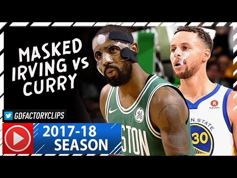 Kyrie Irving vs Stephen Curry PG Duel Highlights (2017.11.16) Celtics vs Warriors - DRAMA!