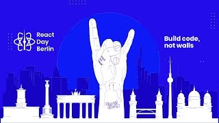 React Day Berlin Conference 2018 Live Stream - West Hall