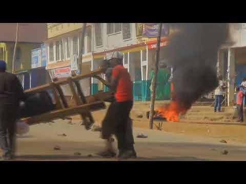 Unrest in Democratic Republic of Congo amid election protest