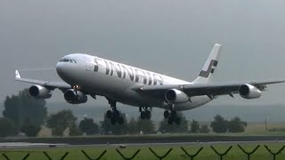 Plane spotting at Brussels airport - 22 planes in 7 minutes!