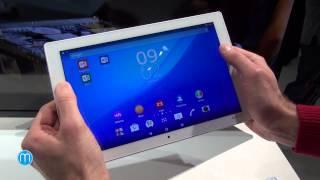 Sony Xperia Z4 Tablet (MWC 2015)