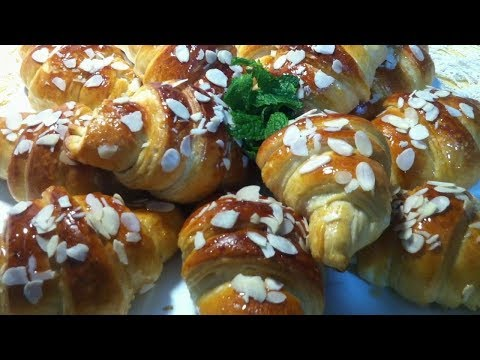 هلالية-التمر-بدون-بيض---croissant-de-dattes-sans-oeufs---crescent-of-dates-without-eggs