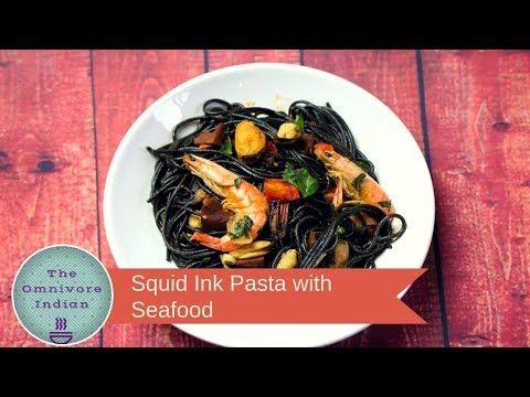 Squid Ink Pasta With Seafood - The Ultimate Seafood Pasta