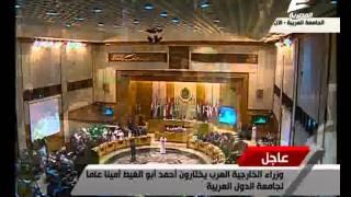 فيديو..«قطر» تكشف موقفها النهائي من تولي «أبو الغيط» أمانة الجامعة العربية