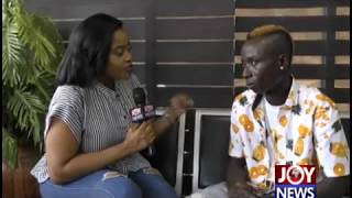 MzGee meets Patapa after popular VGMA interview.