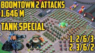 TANKS vs. Boomtown in 2 Attacks | Massive Attack