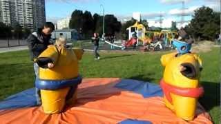Марьино Аттракцион борьба сумо