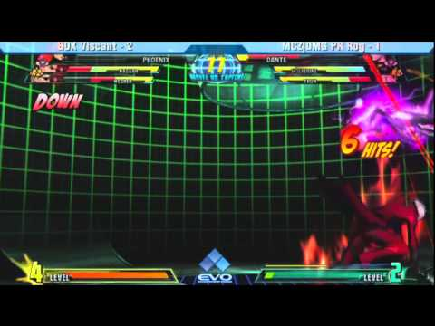 BOX Viscant vs MCZ|DMG PR Rog Grand Finals EVO 2011 MVC3 (720p)
