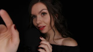 ASMR • Hand Movements with Mic Touching & Whispers