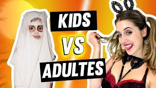 HALLOWEEN KIDS VS ADULTES | DENYZEE