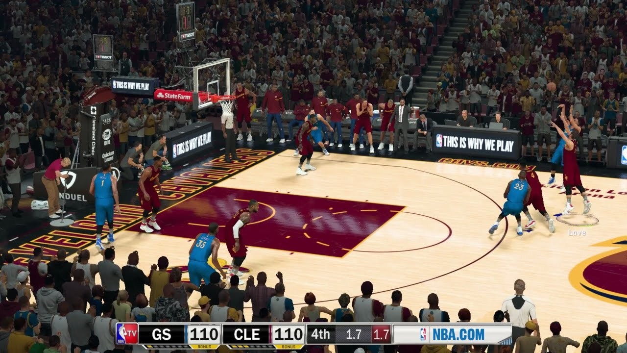 NBA 2K17 PC MOD│ Warriors at Cavaliers│NBA TV MOD w/Download Link│STEPH Game Winner! - YouTube