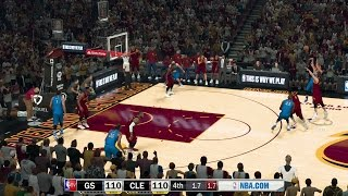 NBA 2K17 PC MOD│ Warriors at Cavaliers│NBA TV MOD w/Download Link│STEPH Game Winner!
