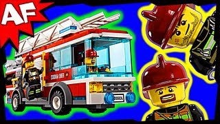 Lego City Fire Truck 60002 Stop Motion Build Review