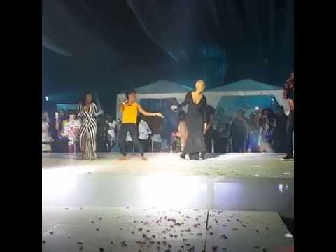 Amber Rose Is SHOKIng at Dbanj's Concert