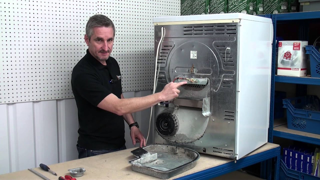 How To Replace Tumble Dryer Thermostats  YouTube