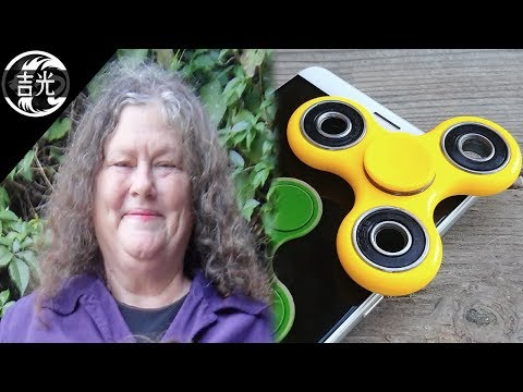 La triste historia de la inventora del Fidget Spinner