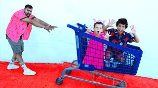 Kids Pretend Play Shopping !! fun children video, les boys tv