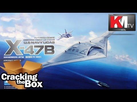 Unboxing Freedom Model Kits X-47B UCAS (1/48)