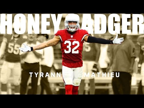 "Tyrann Mathieu || ""Honey Badger"" ᴴᴰ 