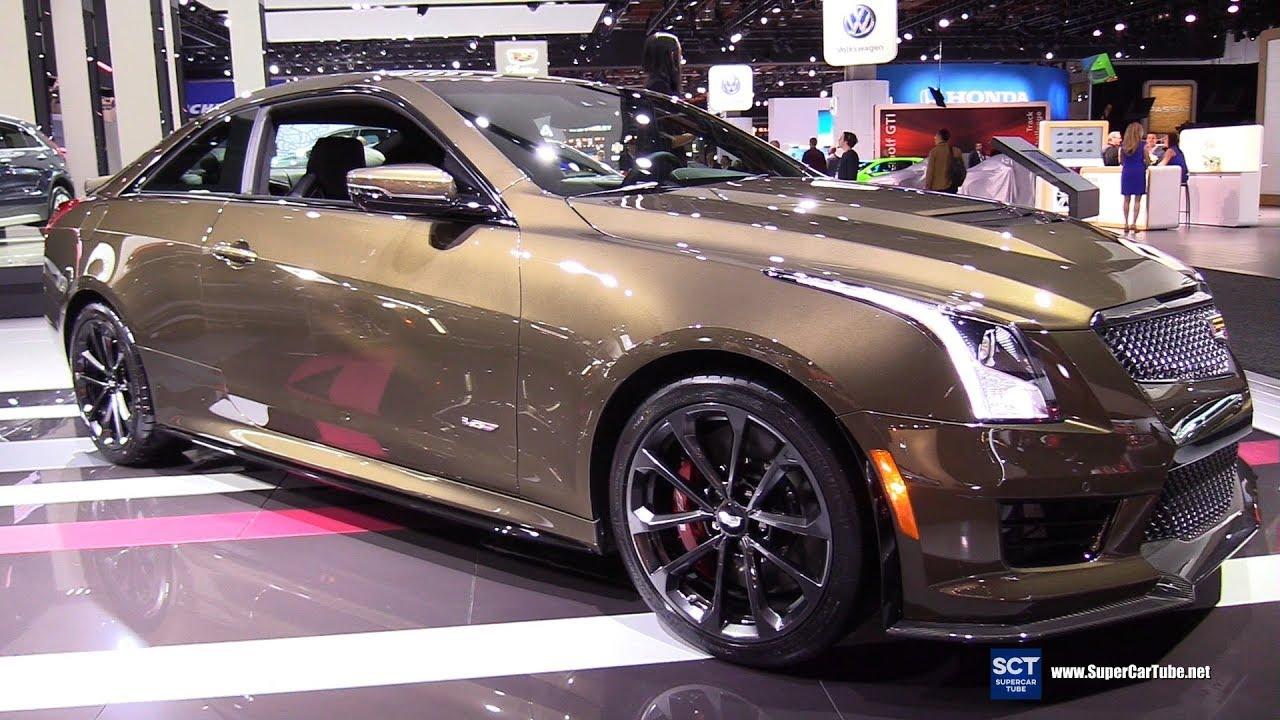 2019 Cadillac Ats V Exterior And Interior Walkaround 2019 Detroit Auto Show Youtube