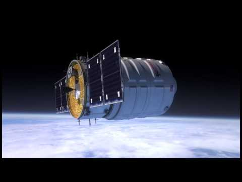 Orbital Sciences/Cygnus Demonstration Flight Animation
