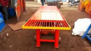 Interlock Designig Concrete Vibrating Table In India |latets Model| |prem Industries|