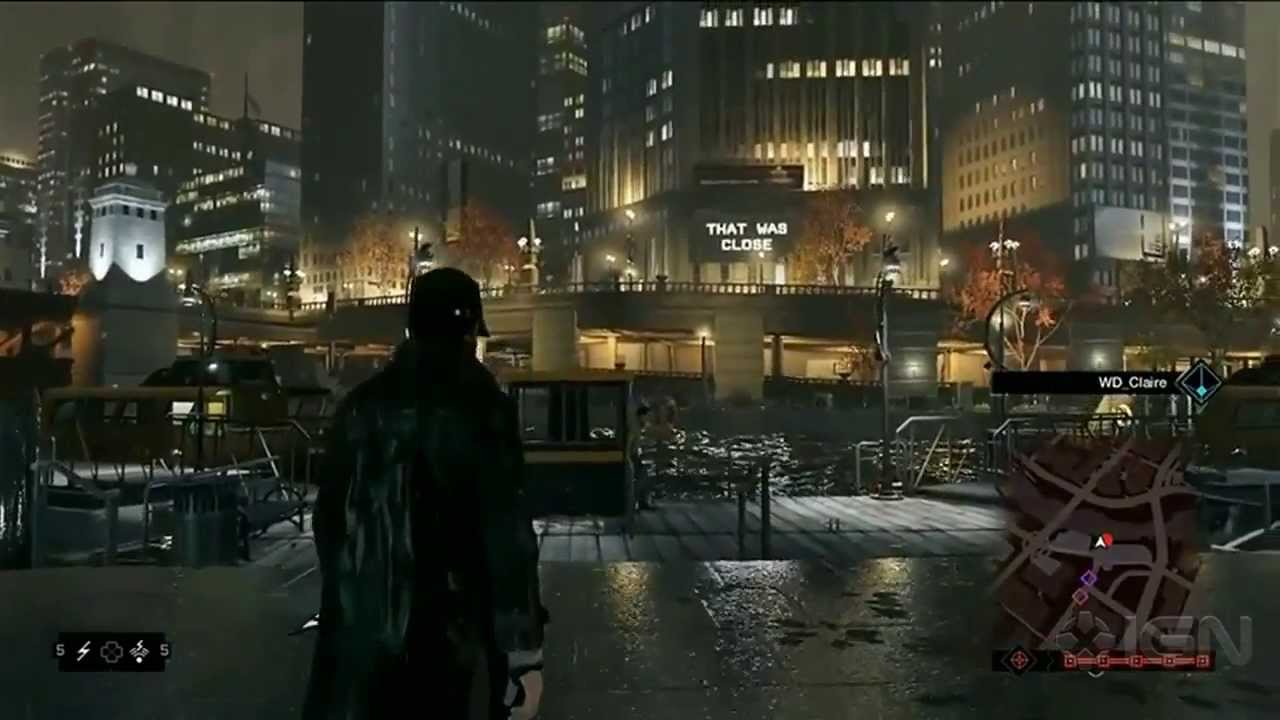 Watch Dog Ui