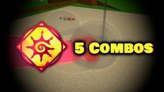5 Chaos combos quick showcase | Elemental Battlegrounds