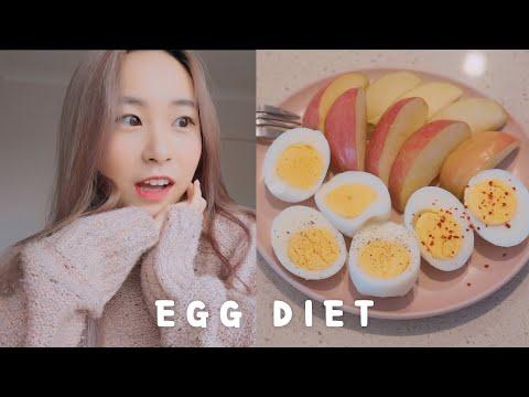 Egg Diet For 3 Days �� | Weight Loss Vlog