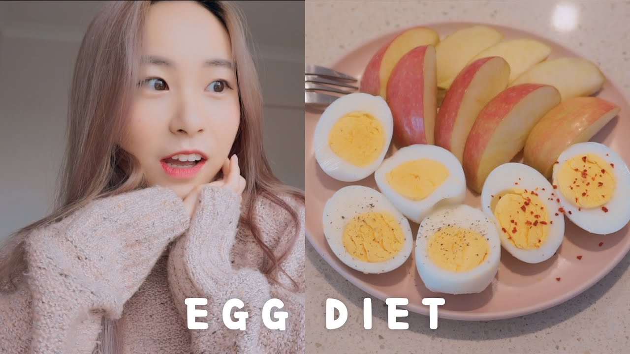 Egg Diet For 3 Days 🥚 | Weight Loss Vlog