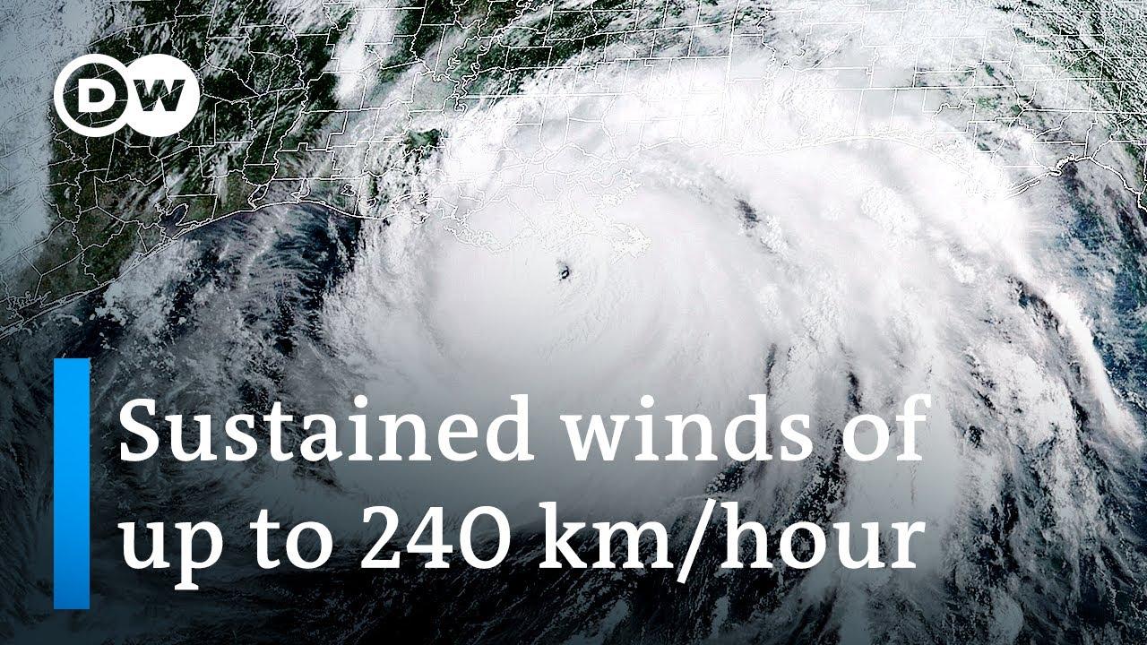 Download Hurricane Ida slams into Louisiana as category 4 storm | DW News