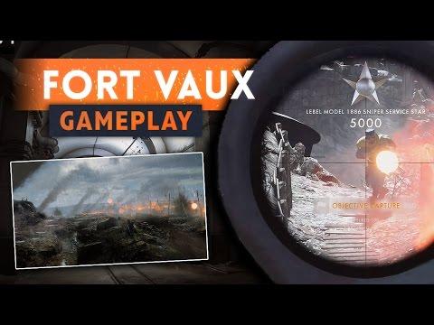 ► FORT DE VAUX FIRST LOOK! - Battlefield 1 They Shall Not Pass DLC Gameplay