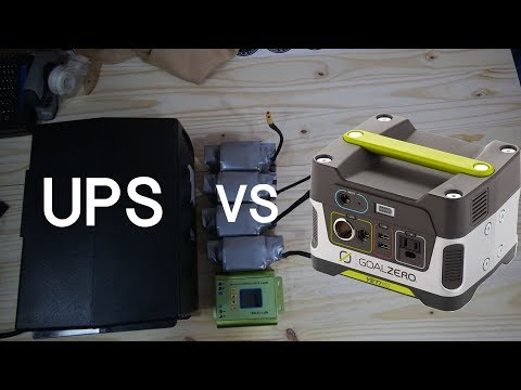 Uninterruptible Power Supplies  VS   Inverters -  LIVE chat