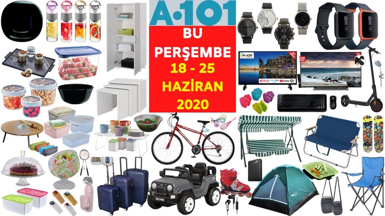 A101 BU PERŞEMBE I A101 18 HAZİRAN 2020 AKTÜEL ÜRÜNLER I A101'DE BU HAFTA I ( A101 Aktüel )