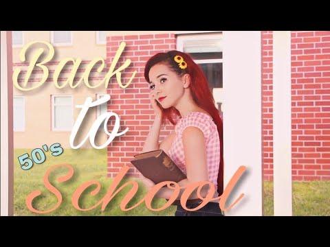 Back To School: Vintage Inspired Lookbook!