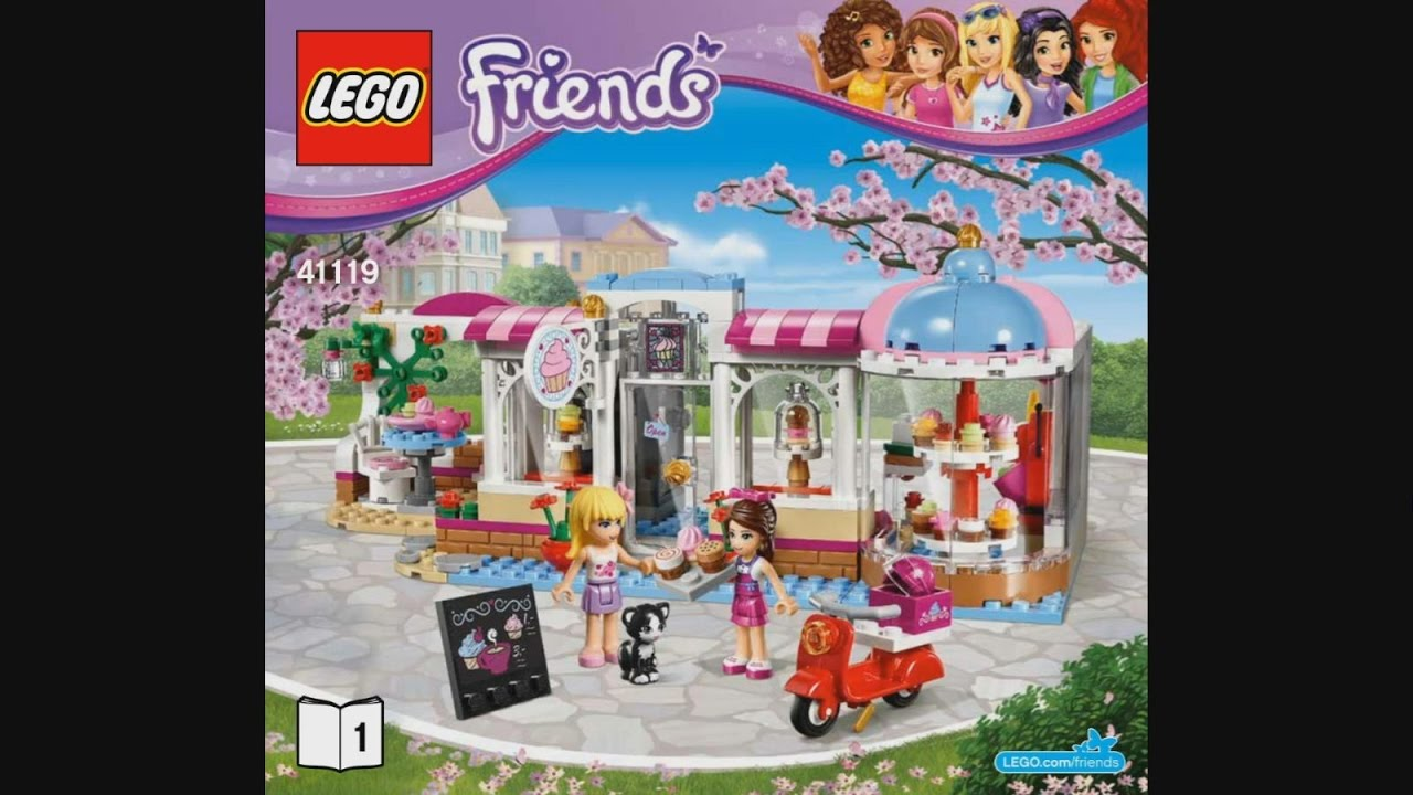 Lego Friends Cafe Manual Instruction User Guide Manual That Easy