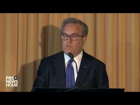 WATCH: Andrew Wheeler, acting EPA administrator, addresses EPA employees