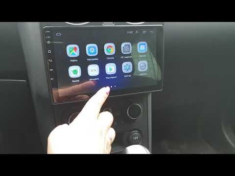 Обзор установленной магнитолы для Nissan Qashqai (2007-2015) Android 8.1
