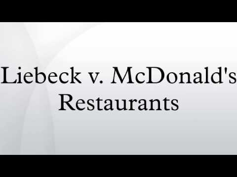 Liebeck V Mcdonalds Restaurants Youtube