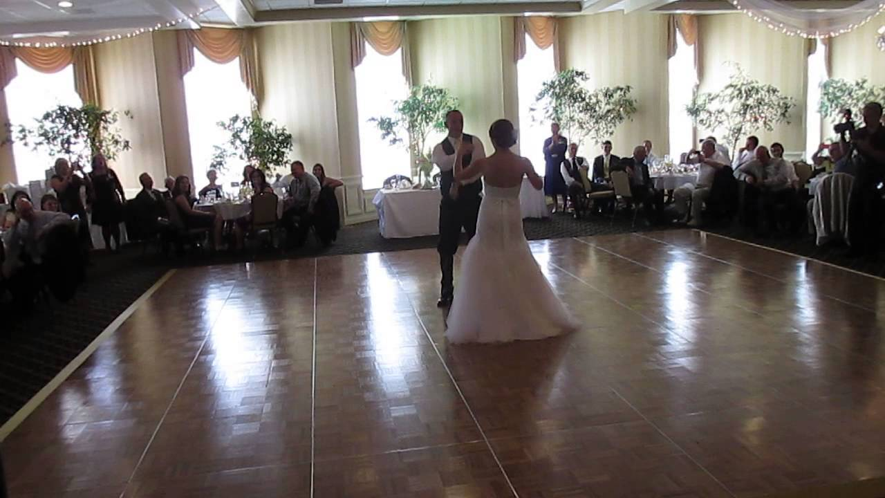 Emily Rob First Dance Outdoor Country Club York Pa Youtube