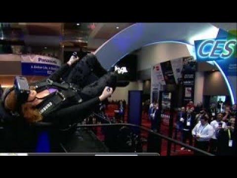 CES 2018: FBN's Liz Claman tries out virtual reality